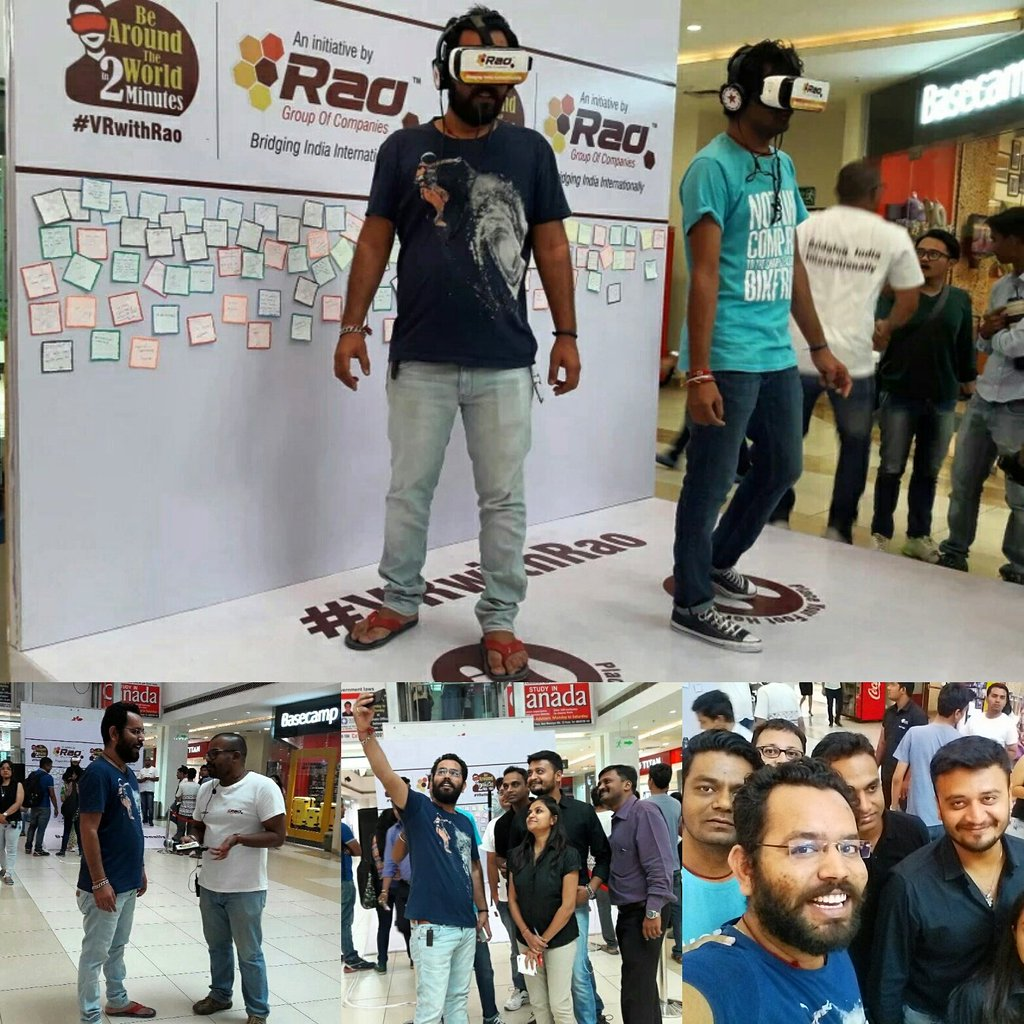 Be Around The World in 2 Mins! #VRwithRao